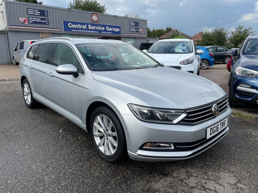 Volkswagen Passat Estate 1.6 TDI BlueMotion Tech SE Business (s/s) 5dr