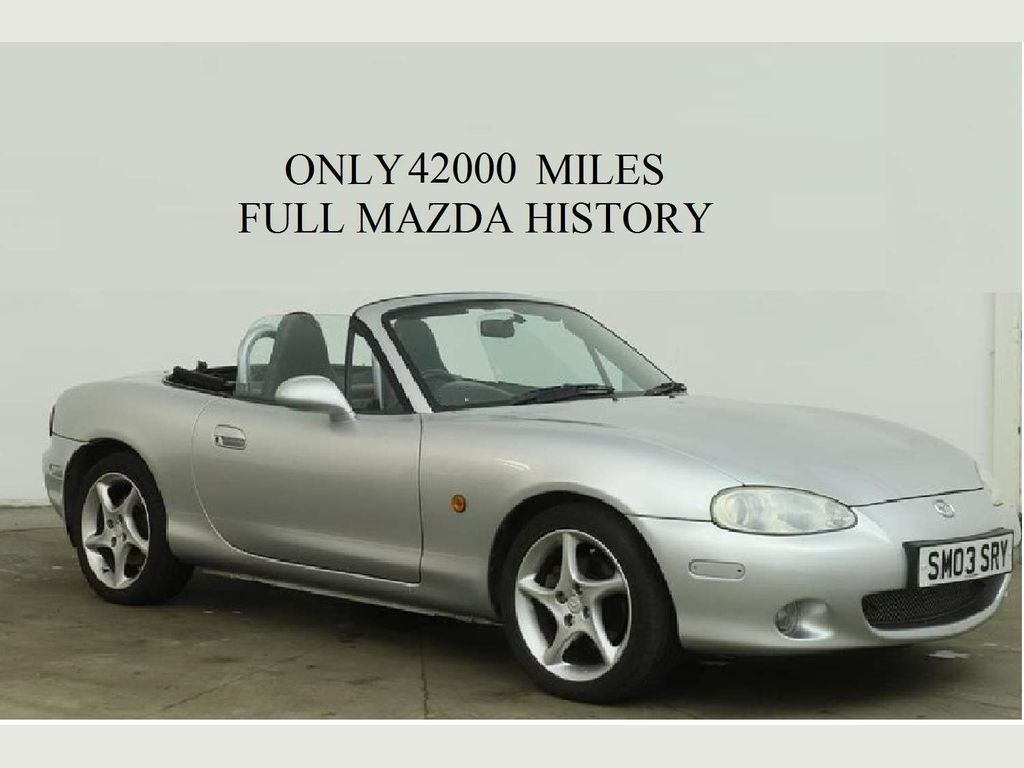 Mazda MX-5 Convertible 1.8 Sport 2dr