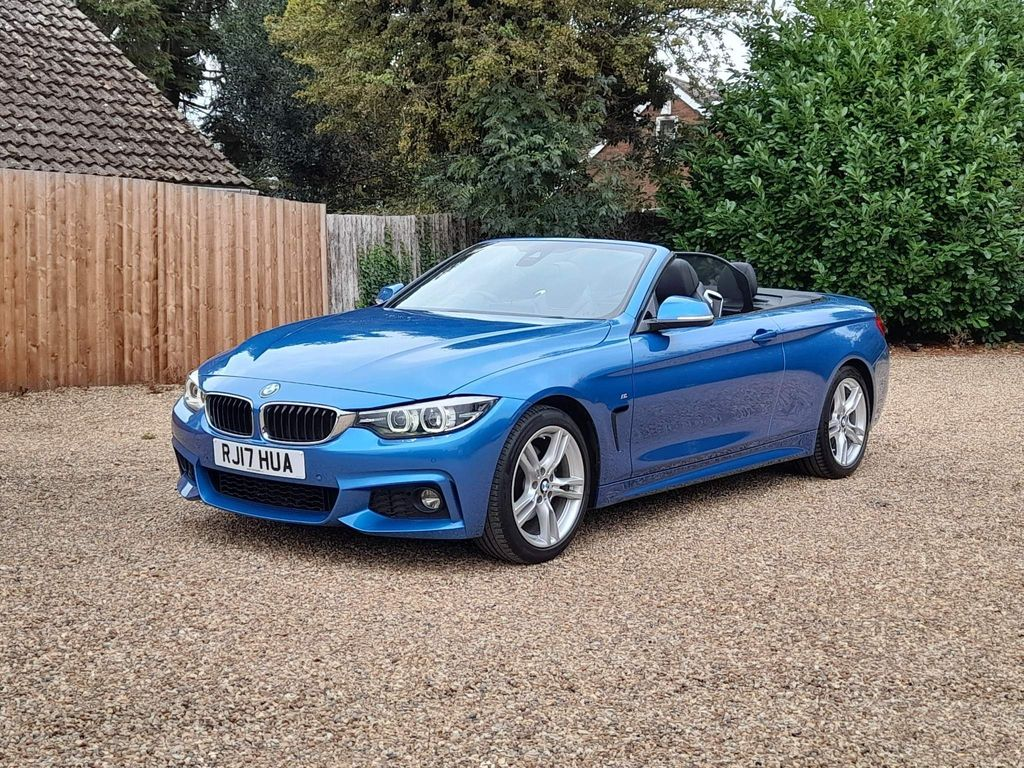BMW 4 Series Convertible 2.0 430i M Sport Auto (s/s) 2dr