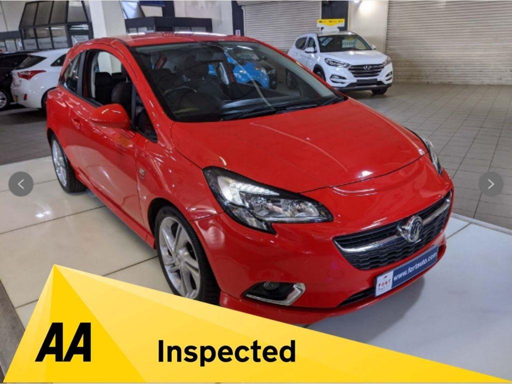 Vauxhall Corsa Hatchback 1.4i ecoTEC SRi VX Line 3dr
