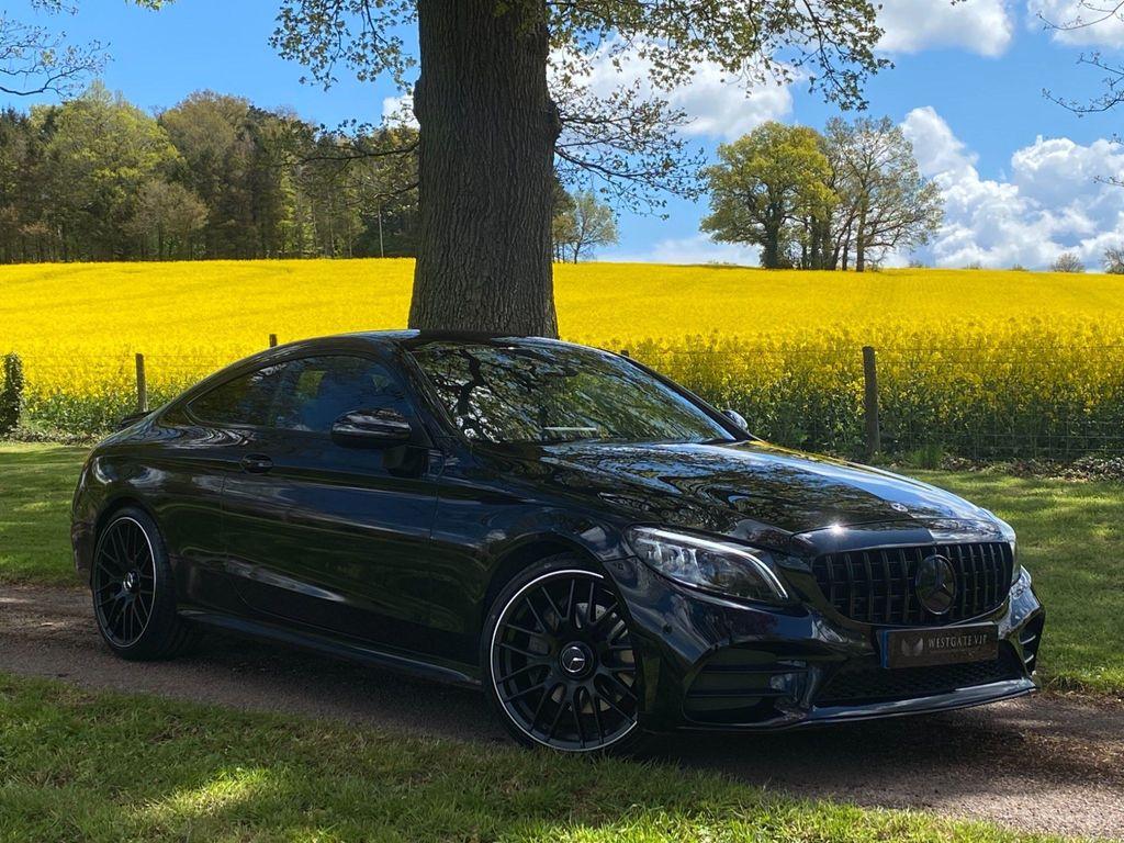 Mercedes-Benz C Class Coupe 2.0 C300 AMG Line (Premium) G-Tronic+ (s/s) 2dr