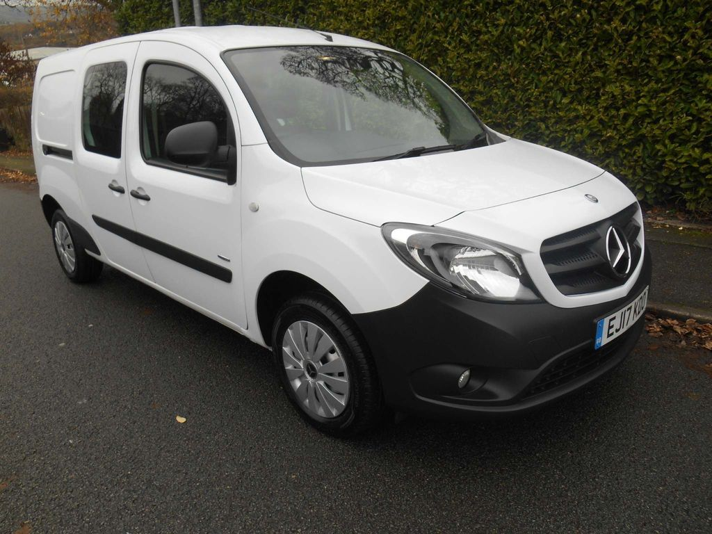 Mercedes-Benz Citan Other 1.5 111 CDi BlueEFFICIENCY Crew Van L3 EU6 (s/s) 6dr (5 Seat)