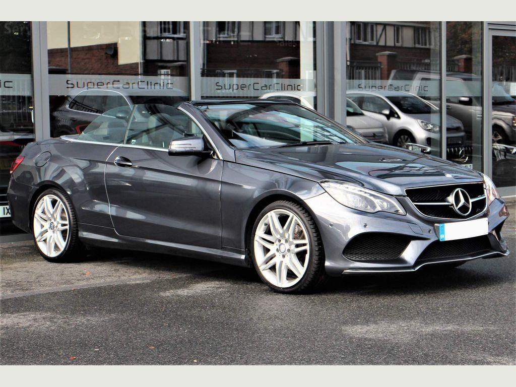 Mercedes-Benz E Class Convertible 2.1 E220 AMG Line Edition Cabriolet 7G-Tronic Plus (s/s) 2dr