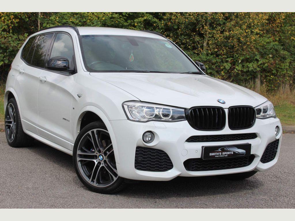 BMW X3 SUV 3.0 30d M Sport Sport Auto xDrive 5dr
