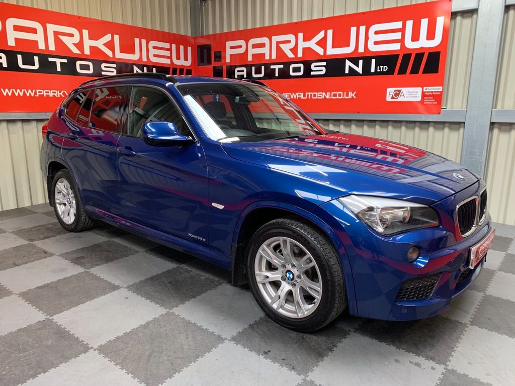 BMW X1 SUV 2.0 18d M Sport xDrive 5dr