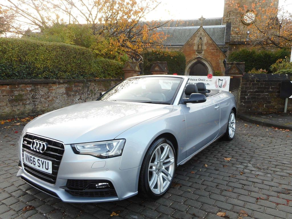 Audi A5 Cabriolet Convertible 2.0 TDI S line Special Edition Plus Cabriolet (s/s) 2dr