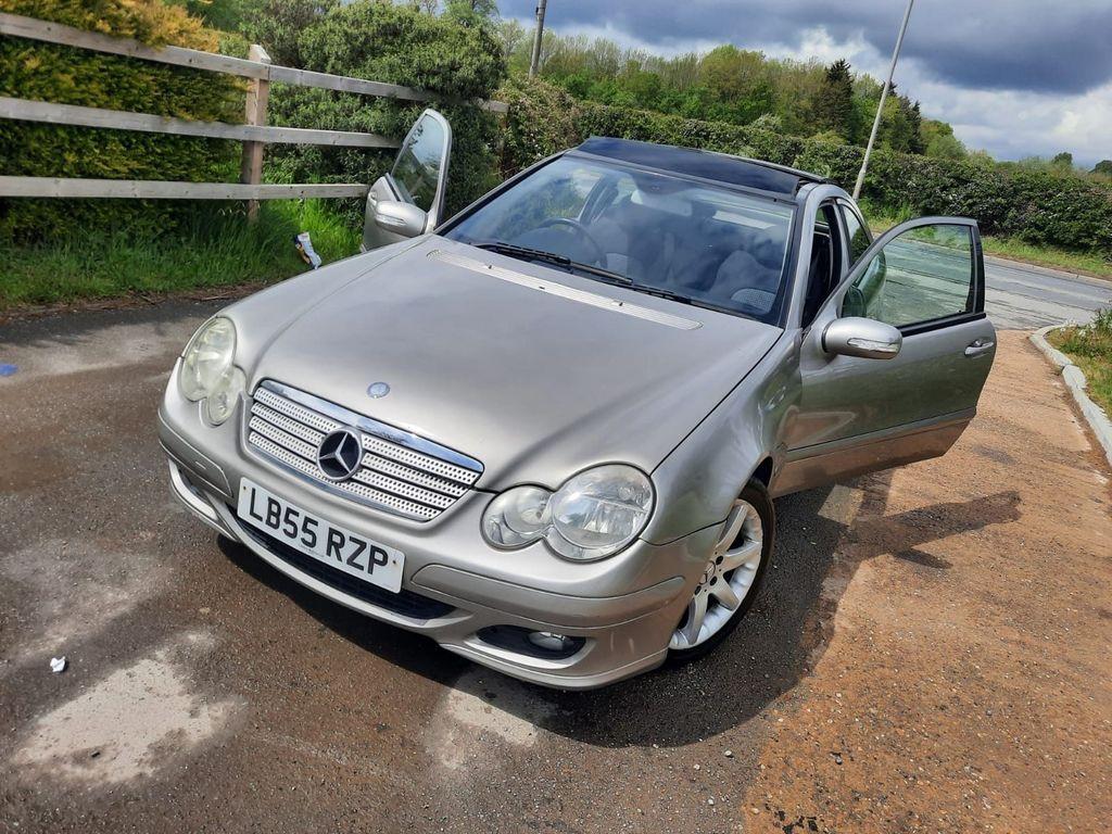Mercedes-Benz C Class Coupe 1.8 C160 Kompressor SE 2dr