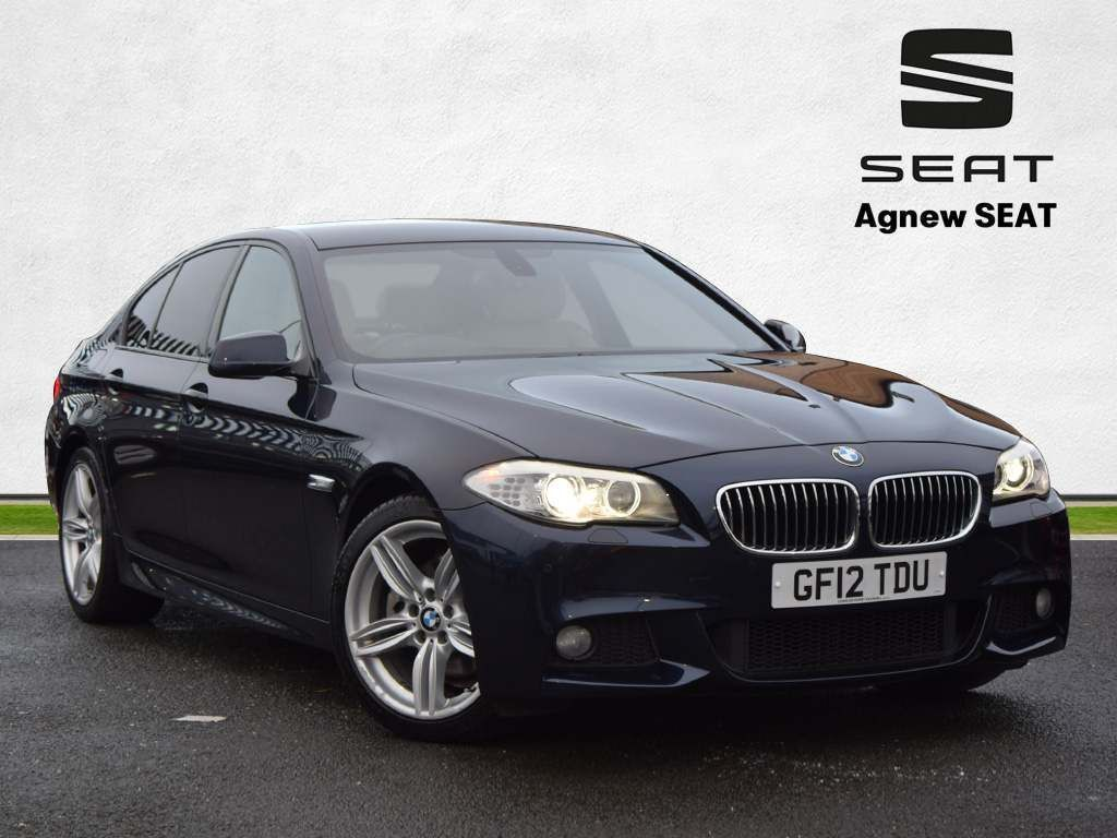 BMW 5 Series Saloon 2.0 520d BluePerformance M Sport 4dr