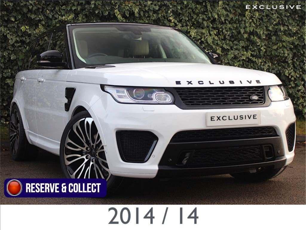 Land Rover Range Rover Sport SUV 3.0 TDV6 EXCLUSIVE SVR Edition