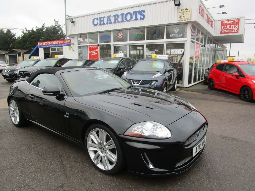 Jaguar XKR Convertible 5.0 Supercharged 2dr