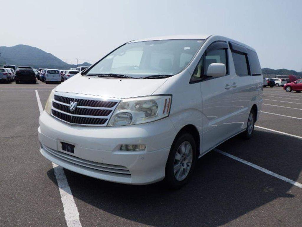 Toyota Alphard MPV AX Tresor Alcantara Version Petrol Auto