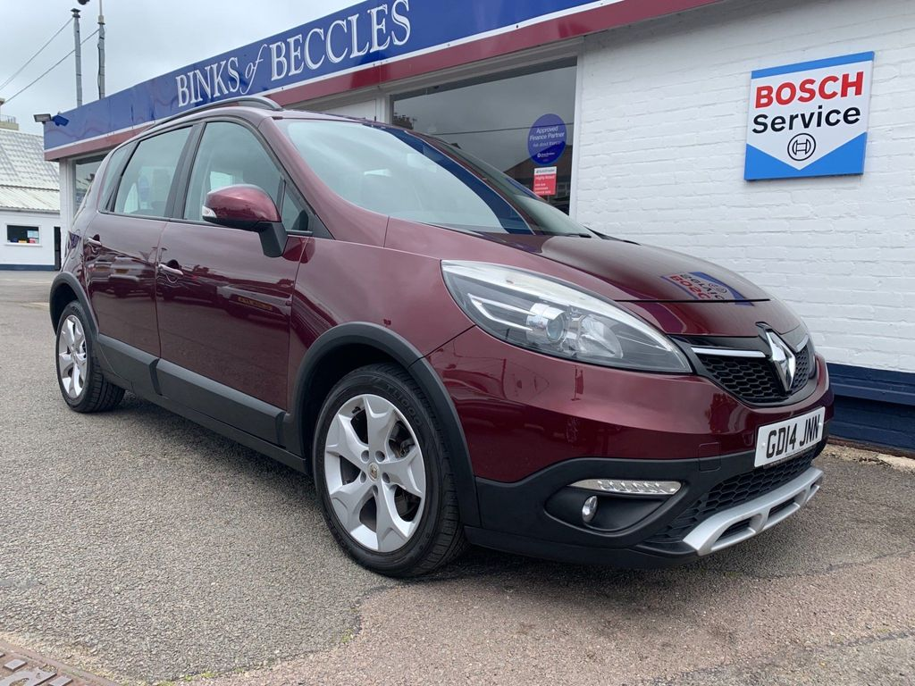 Renault Scenic Xmod MPV 1.5 dCi Dynamique TomTom EDC 5dr