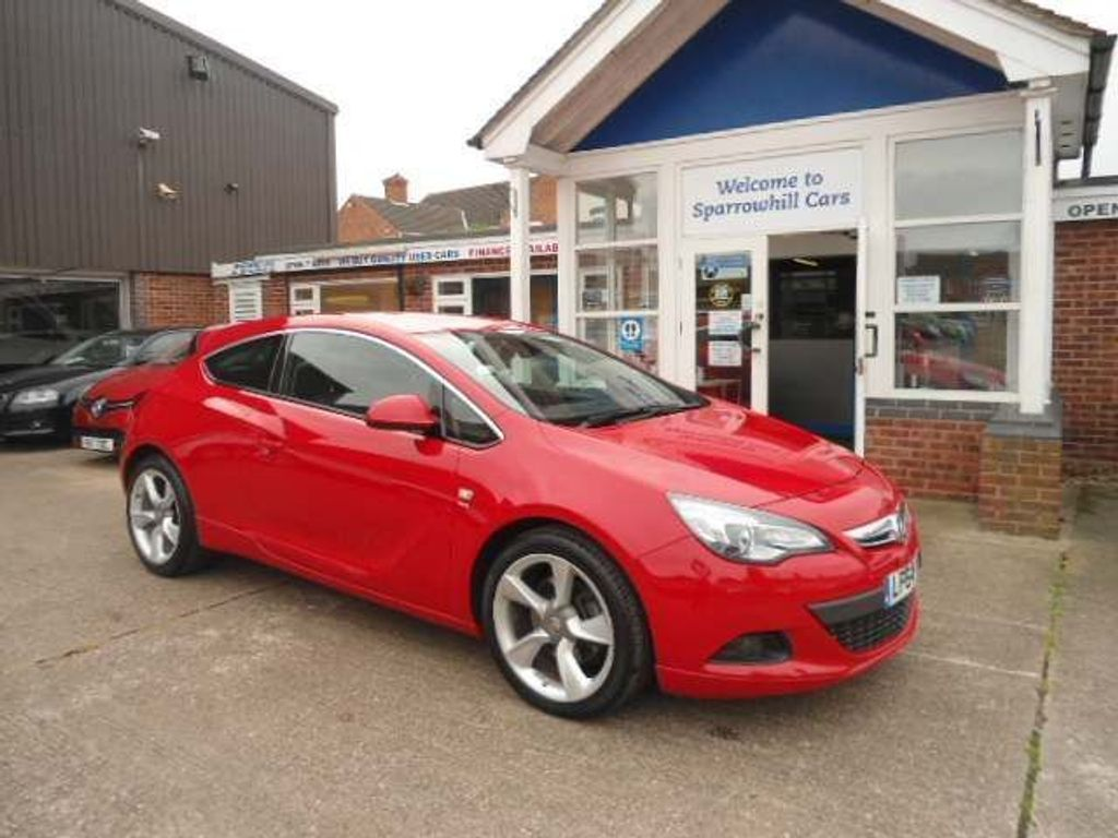 Vauxhall Astra GTC Coupe 1.6 CDTi ecoFLEX SRi (s/s) 3dr
