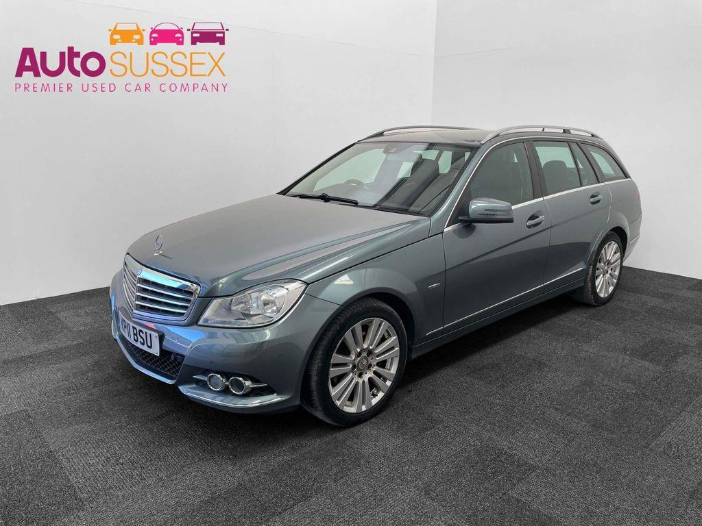Mercedes-Benz C Class Estate 2.1 C250 CDI BlueEFFICIENCY Elegance G-Tronic 5dr