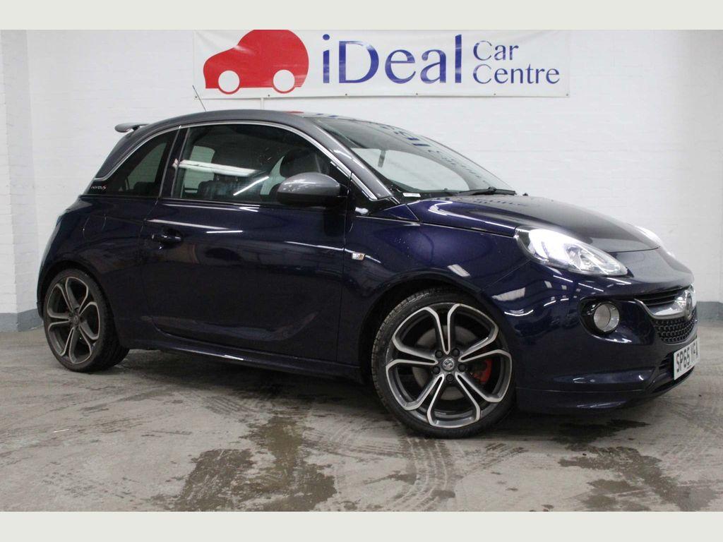 Vauxhall ADAM Hatchback 1.4i Turbo GRAND SLAM (s/s) 3dr