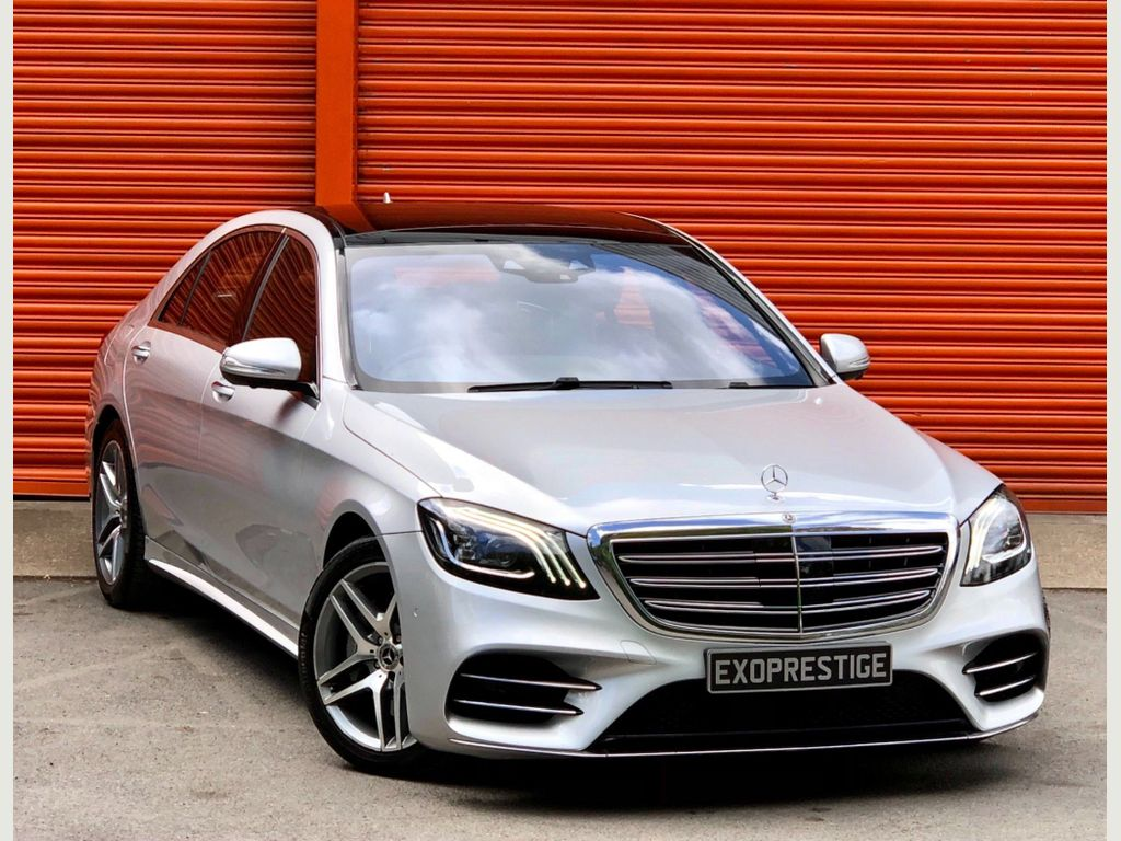 Mercedes-Benz S Class Saloon 3.0 S500L MHEV EQ Boost AMG Line (Premium) G-Tronic+ (s/s) 4dr