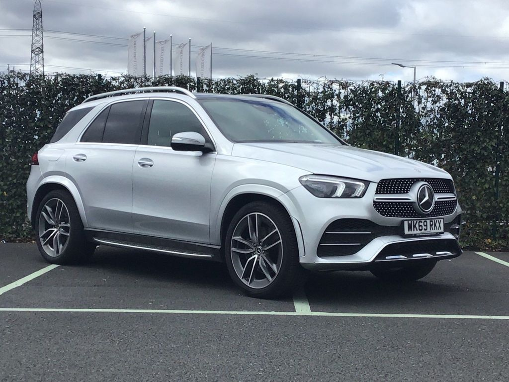 Mercedes-Benz GLE Class SUV 3.0 GLE400d AMG Line (Premium Plus) G-Tronic 4MATIC (s/s) 5dr (7 Seat)