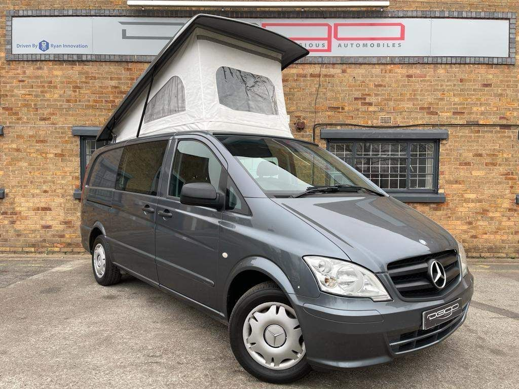 Mercedes-Benz Vito Van Conversion 2.1 DCi 2+2 DUALINER LONG DIESEL 113CDI