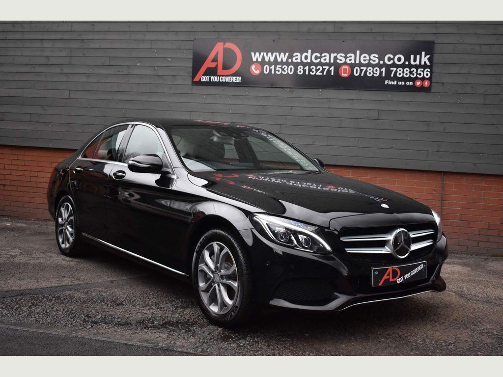 Mercedes-Benz C Class Saloon 2.1 C300dh Sport (Premium Plus) G-Tronic+ (s/s) 4dr