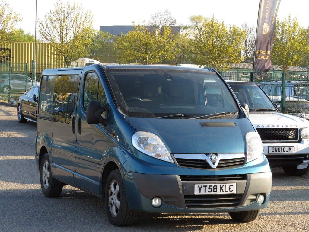 Vauxhall Vivaro Combi Van 2.0 CDTI Sportive 2900 Crewcab 5dr (EU4, SWB)