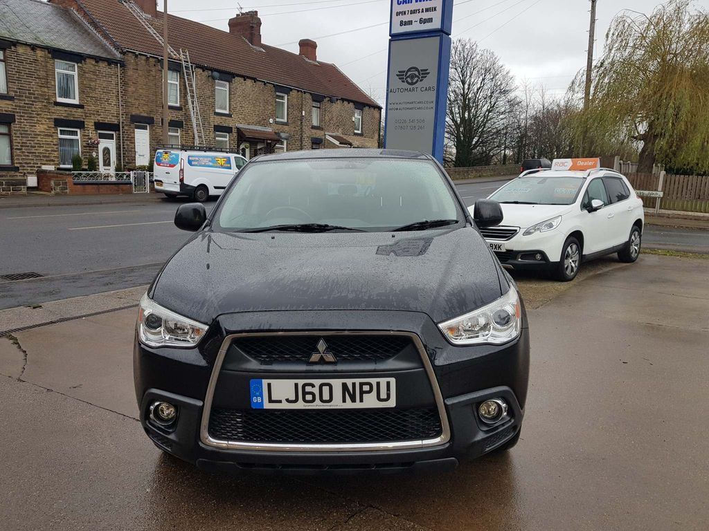 Mitsubishi ASX SUV manual