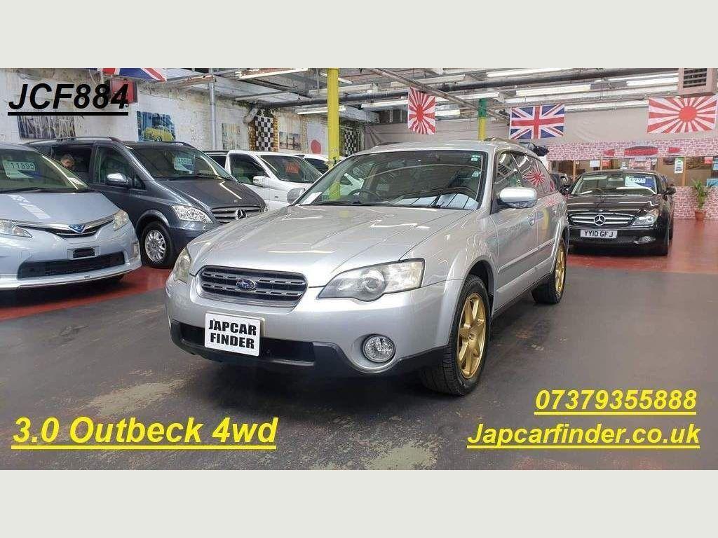 Subaru Outback Estate 3.0 4WD Auto Petrol leather Rust free