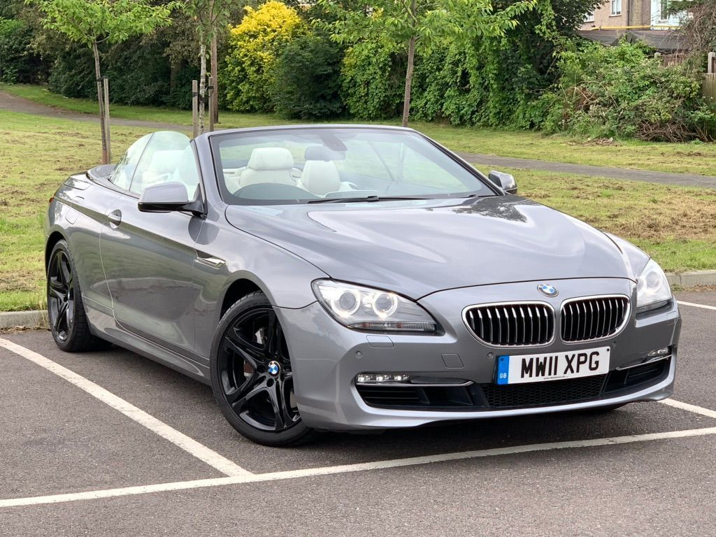 BMW 6 Series Convertible 3.0 640i SE 2dr