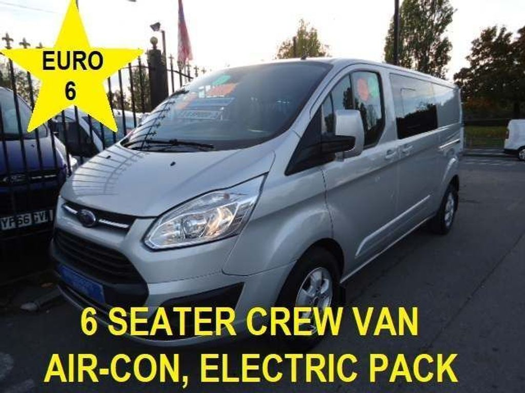 Ford Transit Custom Other 2.0 TDCi 290 Limited Double Cab-in-Van L2 H1 6dr (EU6)