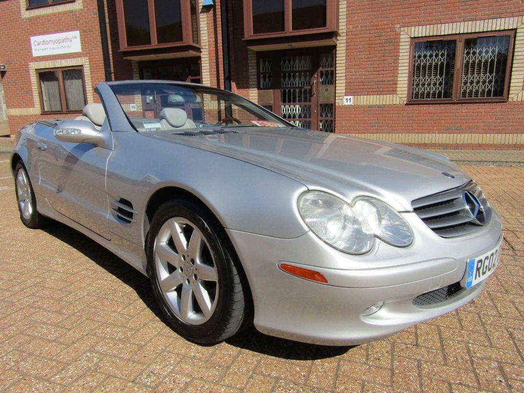 Mercedes-Benz SL Class Convertible SL 500 V8 2DR CONVERTIBLE AUTO PETROL