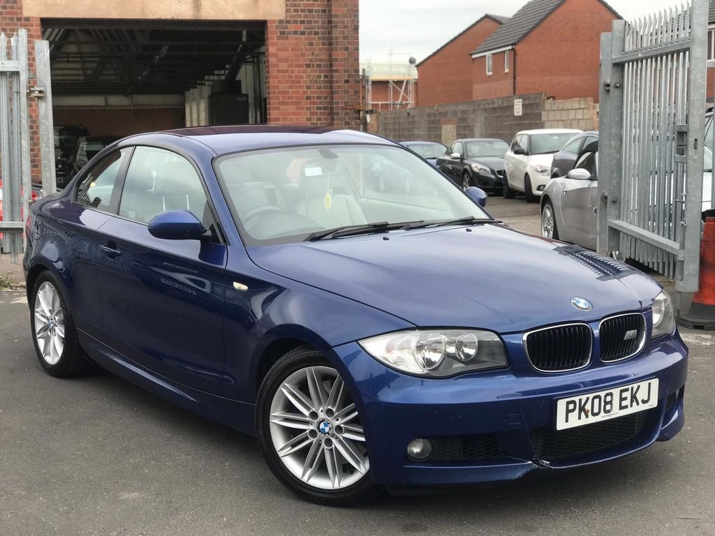 BMW 1 Series Coupe 2.0 123d M Sport 2dr
