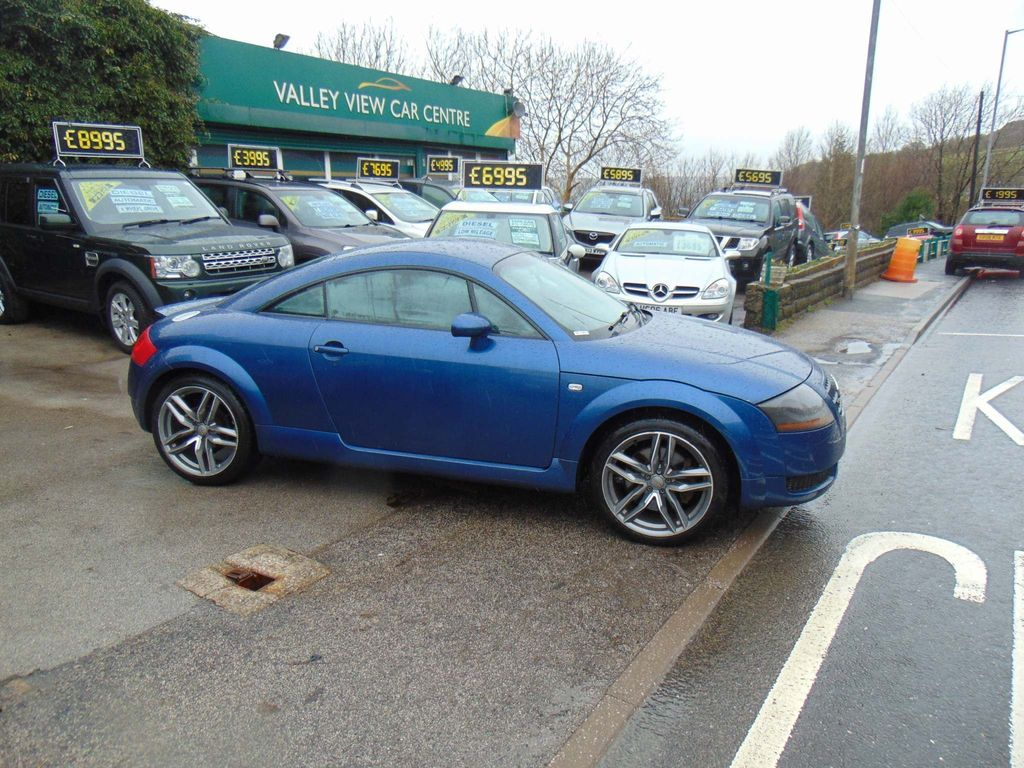 Used Audi Tt Coupe 1.8 T Quattro 2dr in Keighley, West ...