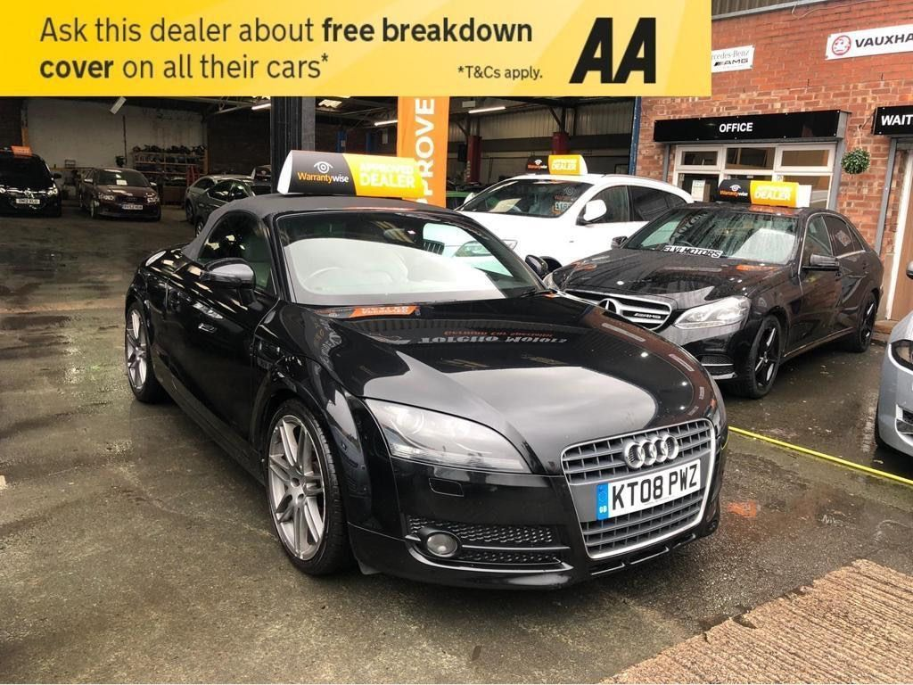 Audi TT Convertible 2.0 TFSI Exclusive Line Roadster 2dr