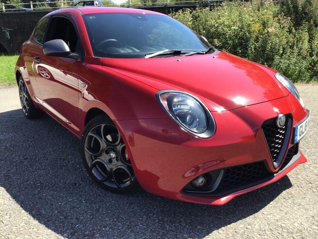 Alfa Romeo MiTo Hatchback 1.4 TB MultiAir Veloce TCT (s/s) 3dr