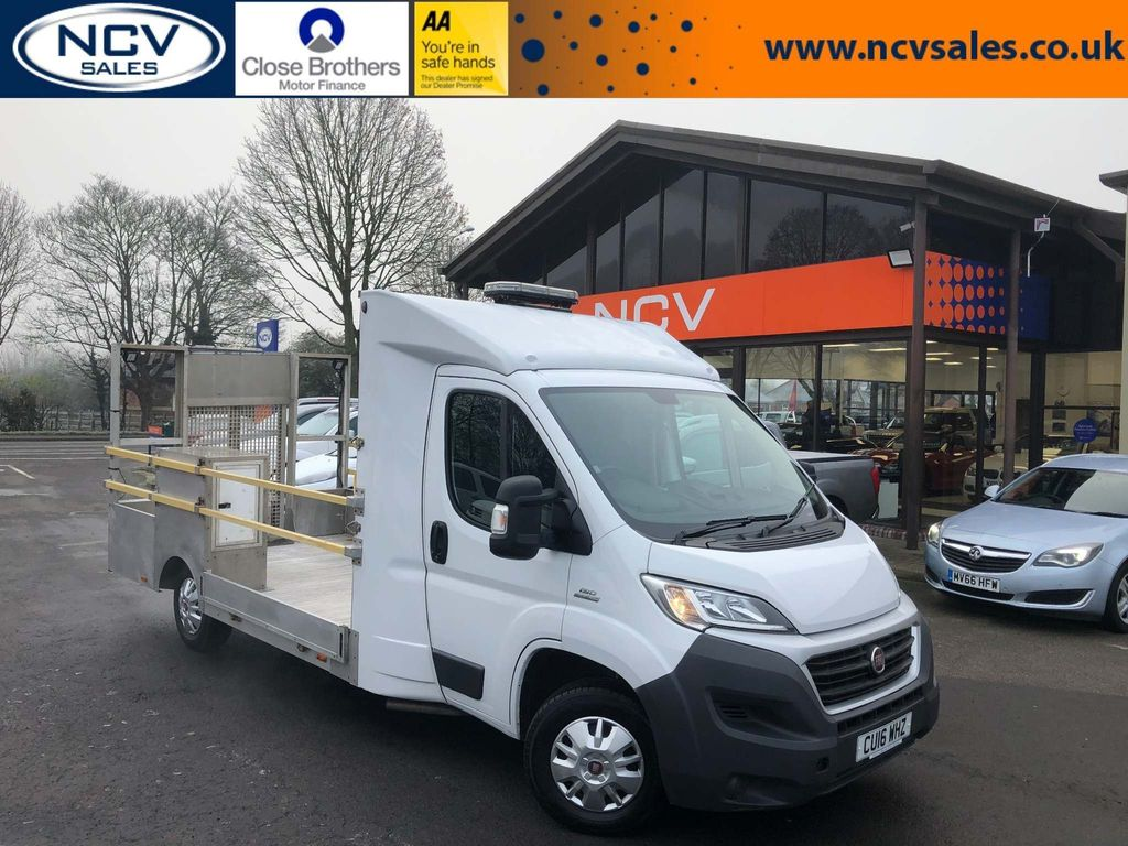 Fiat Ducato Vehicle Transporter PLANT TRANSPORTER CHASSIS CAB BEAVERTAIL