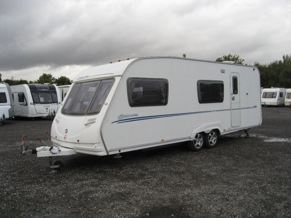 Sterling EUROPA 600 Tourer 2007 6 BERTH LIGHT WEIGHT