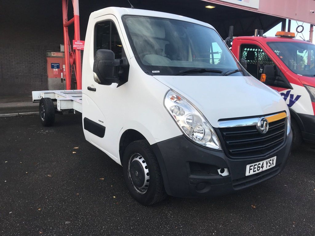 Vauxhall Movano Chassis Cab 2.3 CDTi 3500 FWD L3 H1 EU5 2dr
