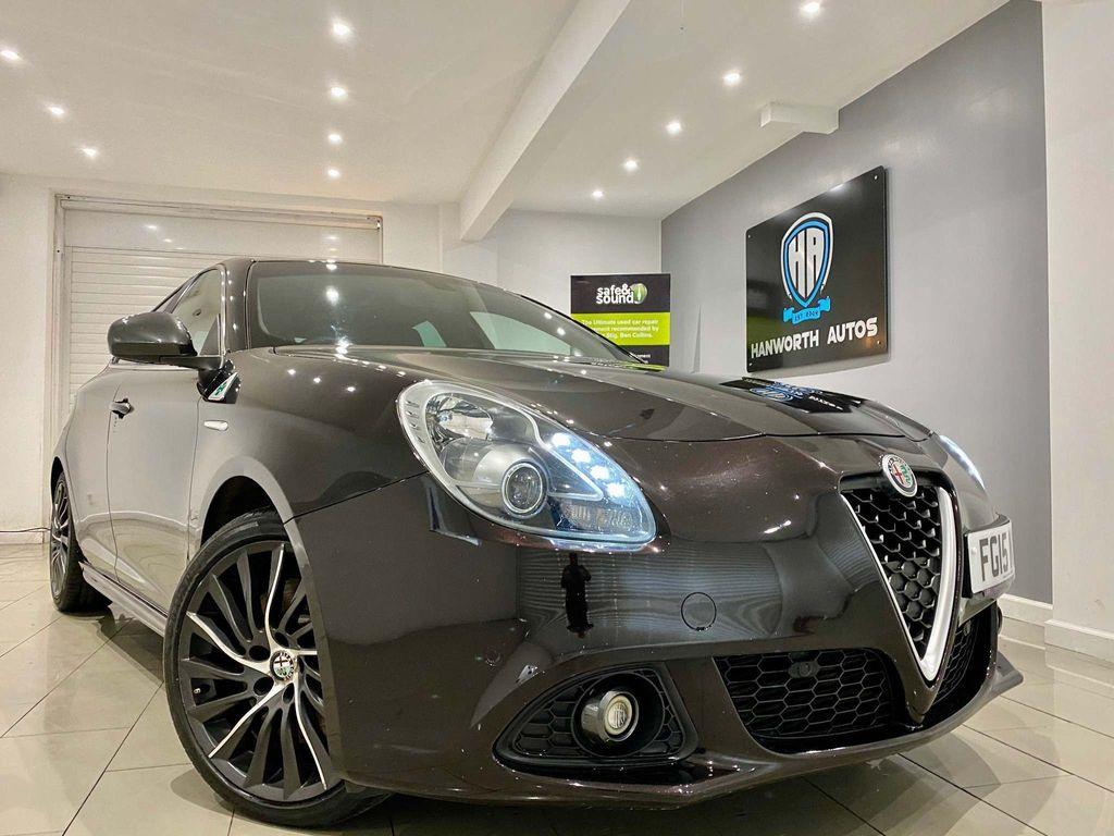 Alfa Romeo Giulietta Hatchback 1.7 TBi Quadrifoglio Verde ALFA TCT 5dr