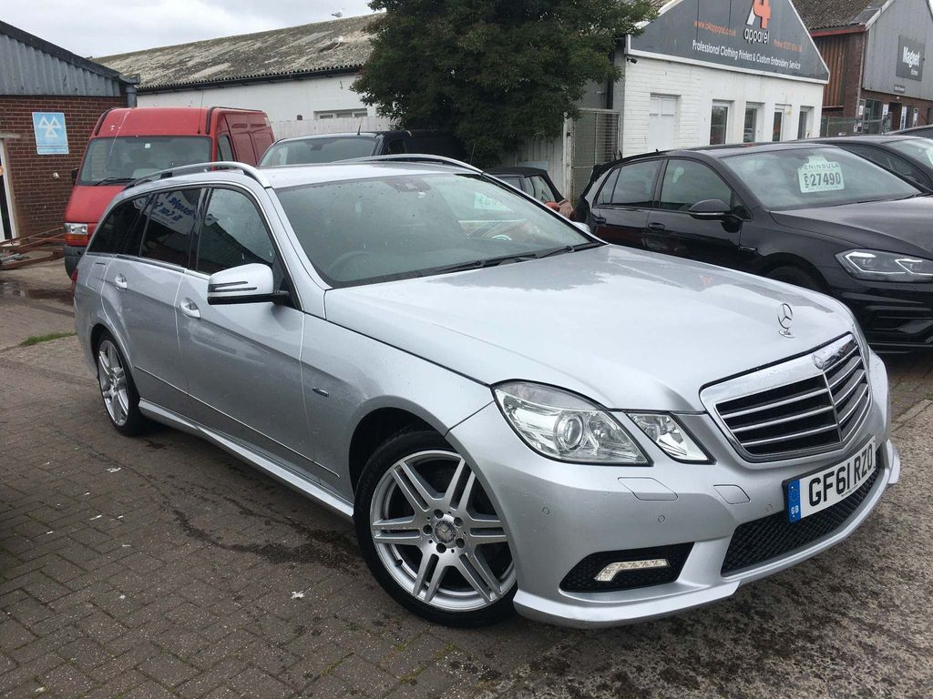Mercedes-Benz E Class Estate 2.1 E250 CDI BlueEFFICIENCY Sport Edition 125 G-Tronic (s/s) 5dr