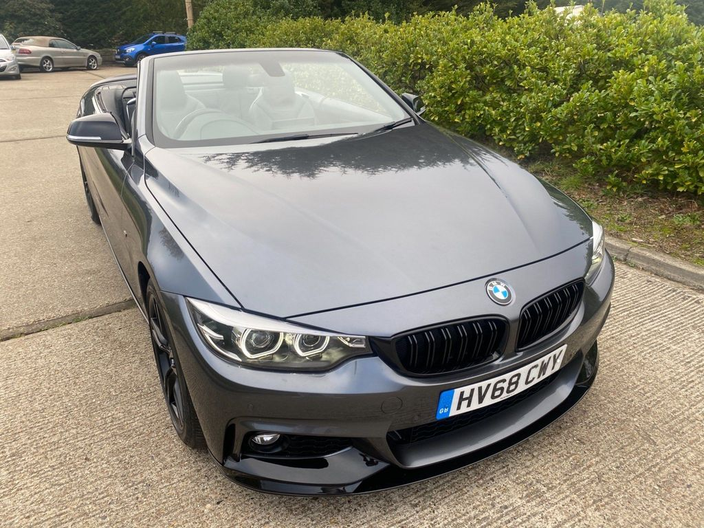 BMW 4 Series Convertible 2.0 420i GPF M Sport Auto (s/s) 2dr