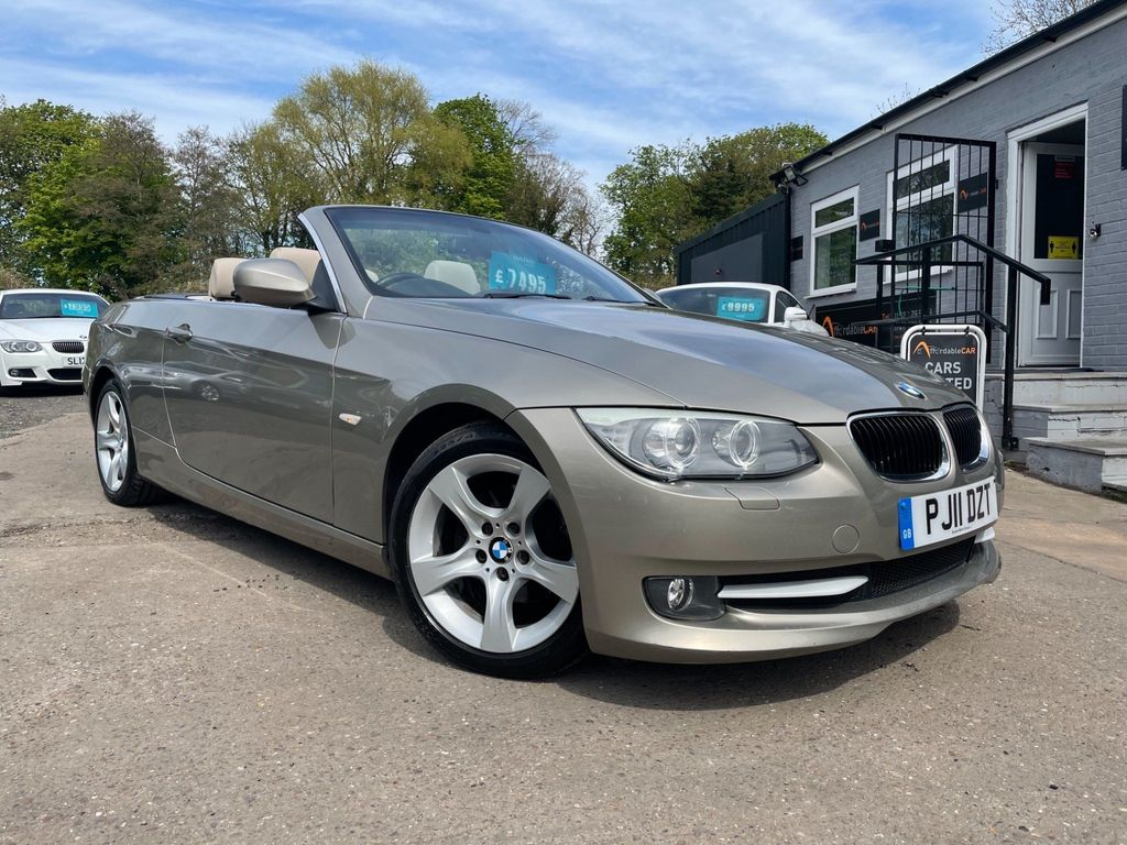 BMW 3 Series Convertible 2.0 320i SE Auto 2dr