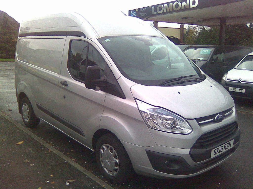Used Ford Transit Custom Panel Van 2 2 Tdci 270 Trend L1 H2 5dr In Dumbarton West Dunbartonshire Lomond Van Centre