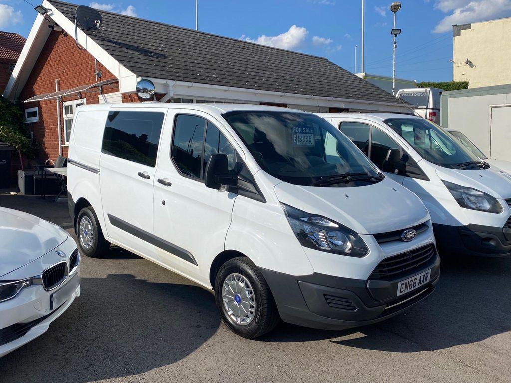 Ford Transit Custom Combi Van 2.0 TDCi 310 Double Cab-in-Van L1 H1 6dr (EU6)