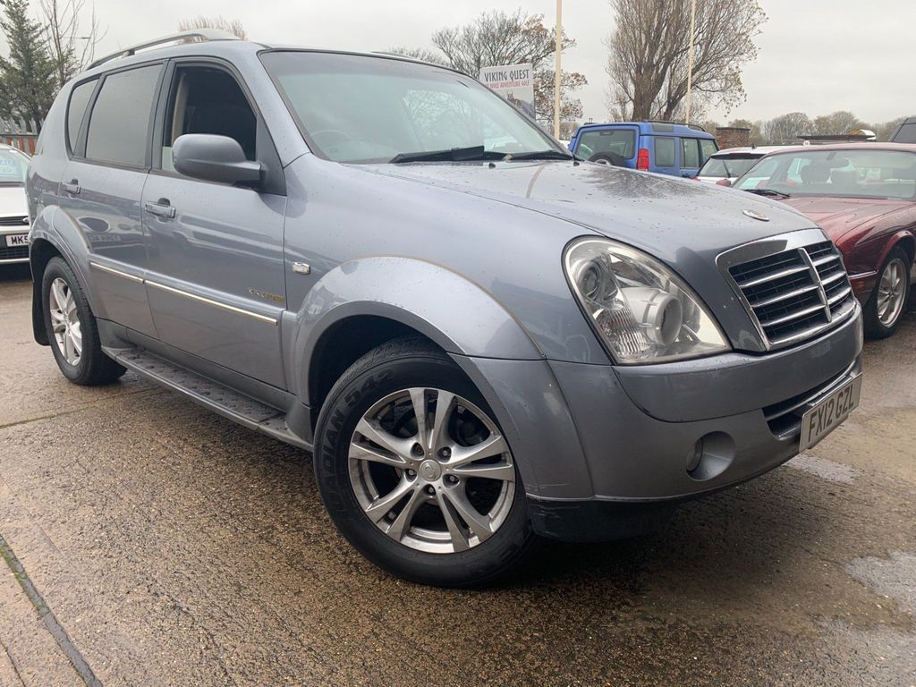 SsangYong Rexton SUV 2.7 TD EX T-Tronic 4x4 5dr