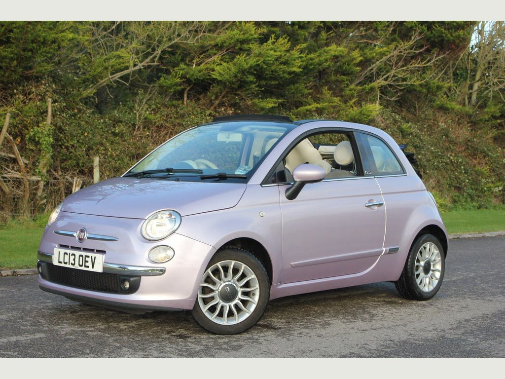 Fiat 500C Convertible 1.2 Lounge Dualogic 2dr