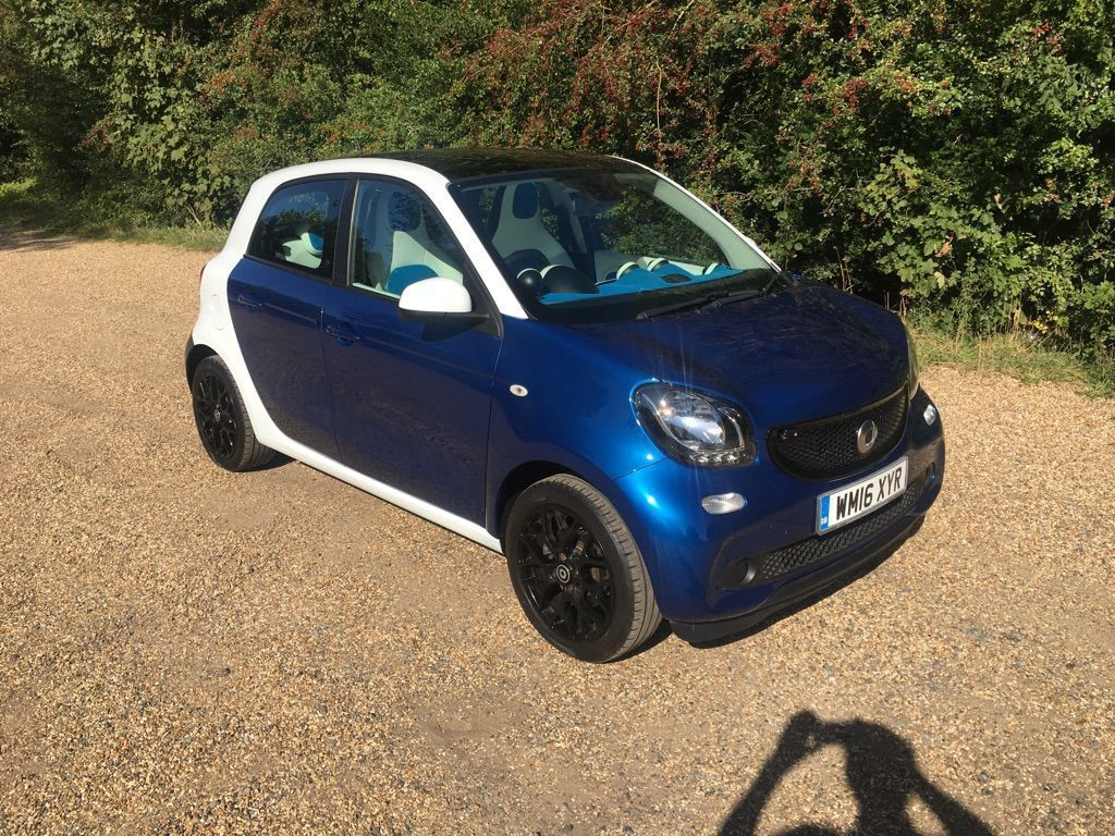 Smart forfour Hatchback 1.0 Proxy Twinamic (s/s) 5dr
