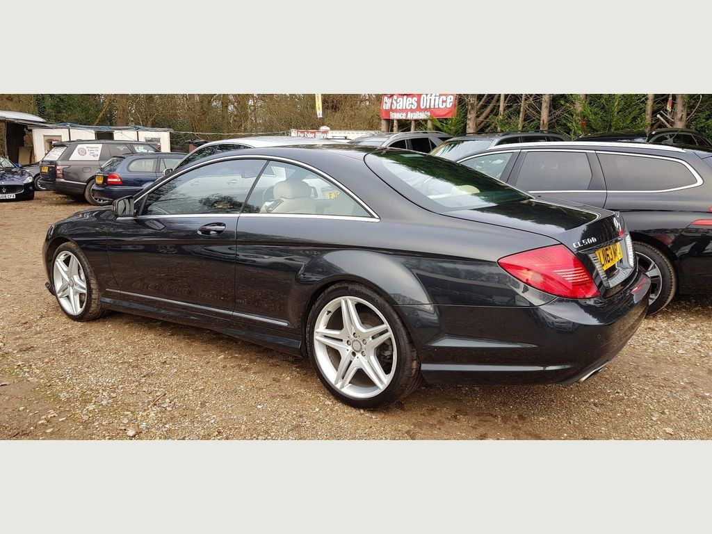 Mercedes-Benz CL Coupe 4.7 CL500 BlueEFFICIENCY 7G-Tronic Plus (s/s) 2dr