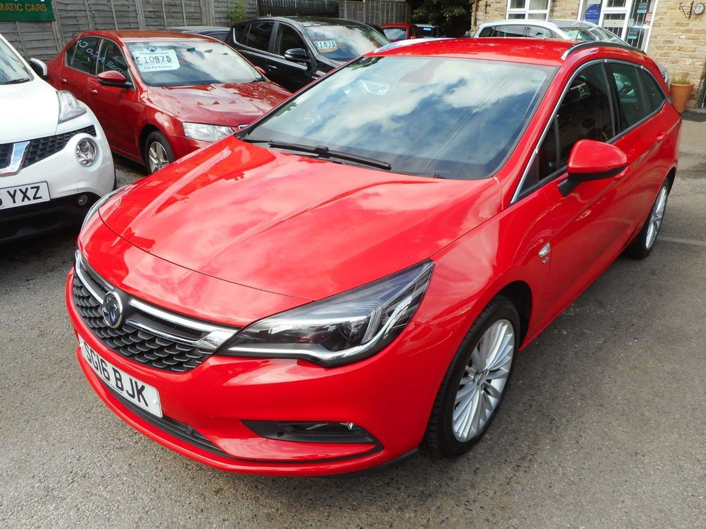 VAUXHALL ASTRA Estate 1.4i Turbo Elite Sports Tourer Auto (s/s) 5dr