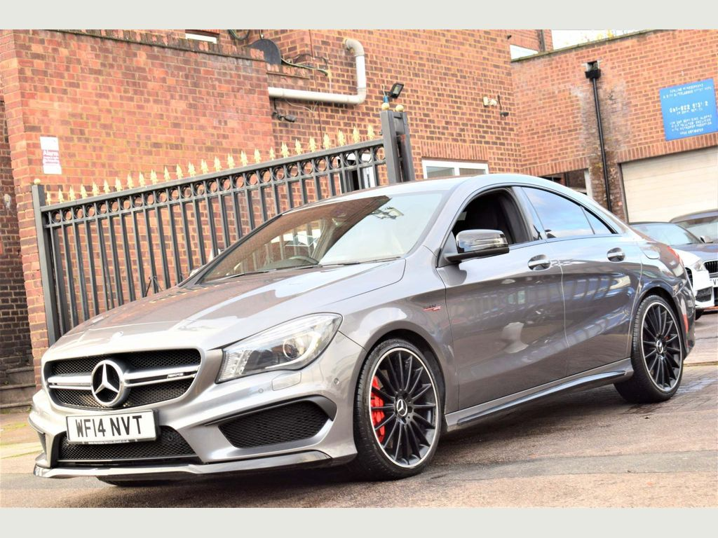 Mercedes-Benz CLA Class Coupe 2.0 CLA45 AMG Speedshift DCT 4MATIC 4dr