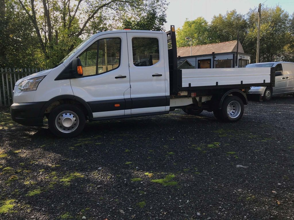 Ford Transit Chassis Cab DOUBLE CAB 1 STOP TIPPER
