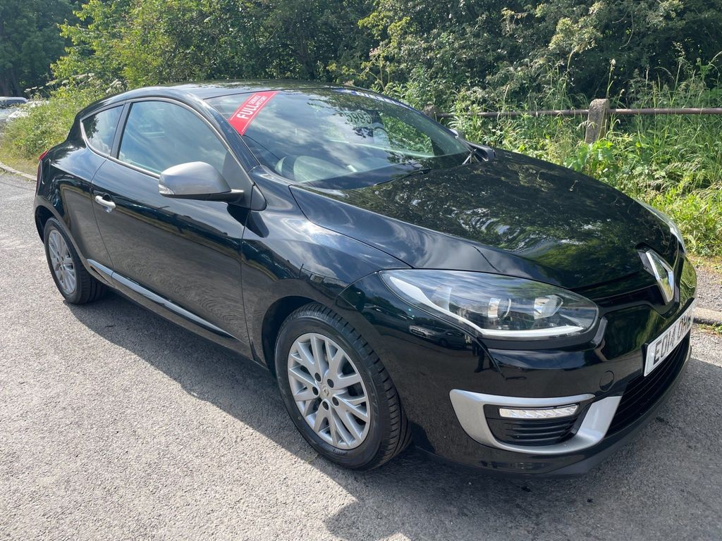 Renault Megane Coupe 1.5 dCi ENERGY Knight Edition (s/s) 3dr